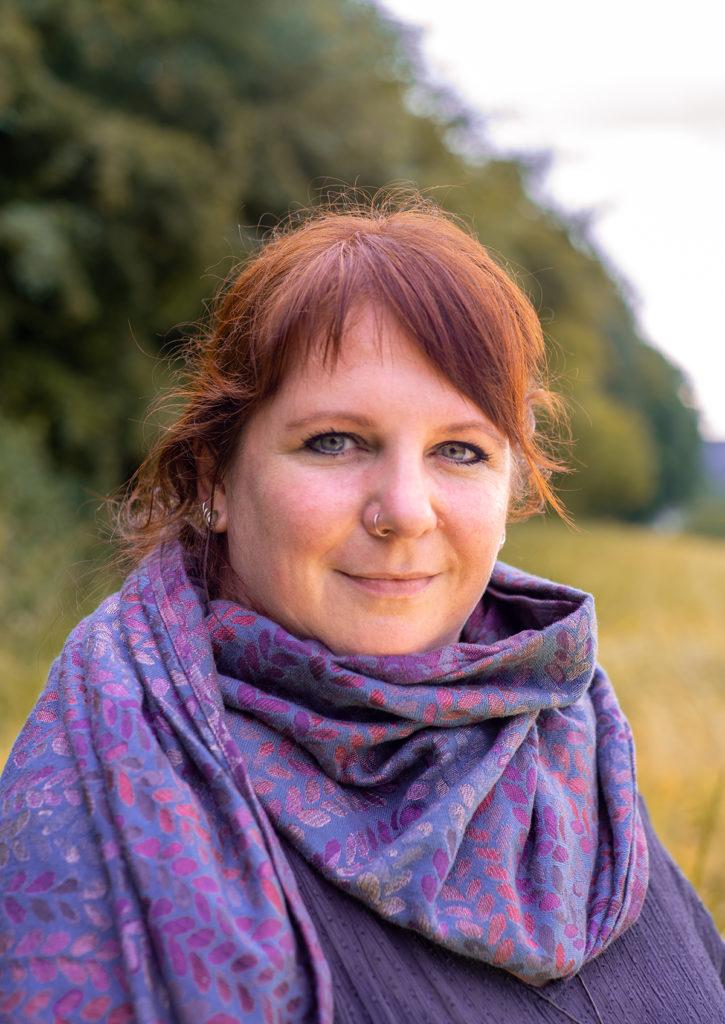 Sabine Schreiber glücklich gebunden
